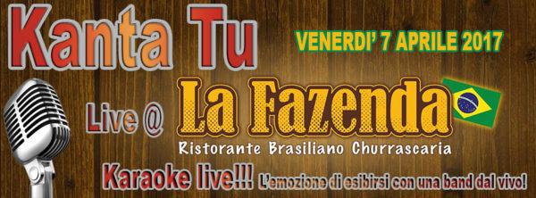 TreDi presenta Kanta Tu live @ La Fazenda