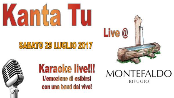 TreDi presenta Kanta Tu live @ Rifugio Monte Faldo