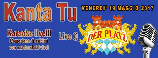 TreDi presenta Kanta Tu live @ Der Platz