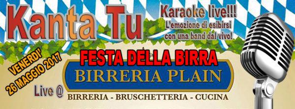 TreDi presenta Kanta Tu live @ 2a Festa della Birra alla Birreria Plain