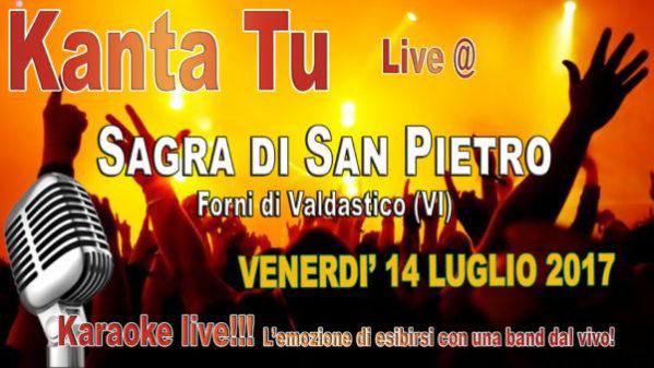 TreDi presenta Kanta Tu live @ Sagra di San Pietro