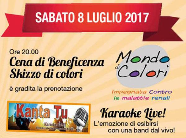 """TreDi presenta Kanta Tu live @ """"Skizzo di colori"""" (Cena di Beneficenza)"""