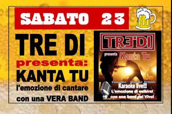 TreDi presenta Kanta Tu live @ Altabirra Altavilla