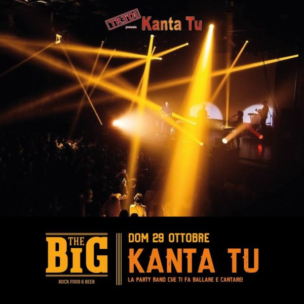 TreDi presenta Kanta Tu live @ The Big