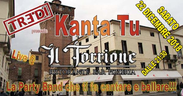 TreDi presenta Kanta Tu live @ Il Torrione