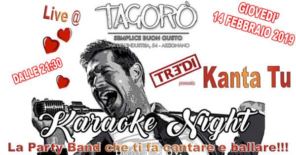 TreDi presenta Kanta Tu live @ Tagorò