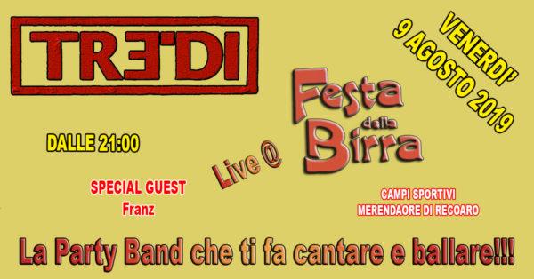 TreDi live @ Festa della Birra